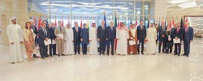 سفراء دول «ناتو» وسفراء دول مجلس التعاون يجتمعون بالمركز الاقليمي لـ«ناتو» في الكويت