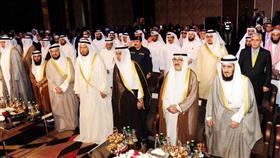 • جانب من حفل تكريم الفائزين والمشاركين بجائزة الكويت الدولية لحفظ القرآن الكريم