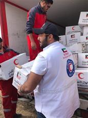 الهلال الأحمر الكويتي يوزع المساعدات في «كلستان» الايرانية
