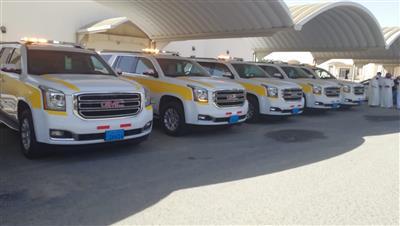 سيارات حديثة لنقل الجنائز من المستشفيات إلى المراكز الحدودية