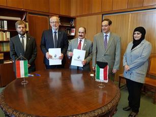 هنغاريا والكويت توقعان اتفاقية لتعزيز التعاون الثقافي في مجال المكتبات