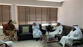 عبدالمحسن العجمي: لقاء إيجابي مع د .شفيقة العوضي وجدنا خلاله تفهمها لاحتياجات ذوي الإعاقة