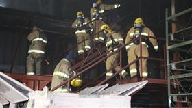 «الإطفاء» تسيطر على حريق مستودع معدات بحرية في صبحان