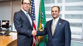 وزير المالية يبحث مع وزراء من أمريكا والعراق والأردن تعزيز التعاون بالمجالات الاستثمارية والتجارية