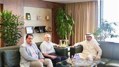 الوزير الشعلة يستقبل رئيس جمعية الأيادي البيضاء في تركيا