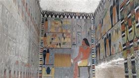مصر.. اكتشاف مقبرة تعود لحقبة الأسرة الخامسة في «سقارة»