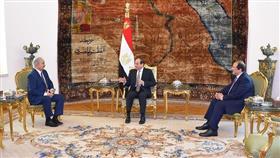 السيسي يؤكد دعم جهود مكافحة الإرهاب لتحقيق الاستقرار في ليبيا