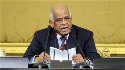 رئيس مجلس النواب المصري الدكتور على عبدالعال