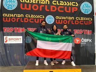 الكويت تحصد 3 ميداليات ببطولة العالم لـ«الكيك بوكسينغ» بالنمسا