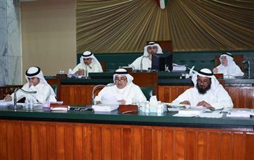 جانب من جلسة المجلس البلدي