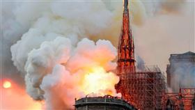 جهاز الإطفاء بباريس: إخماد حريق كاتدرائية نوتردام