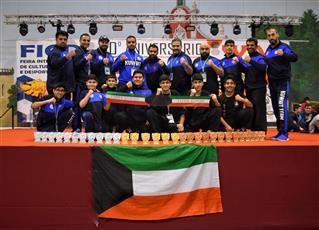 لاعبو الكويت يتألقون في بطولة العالم للفنون القتالية بالبرتغال