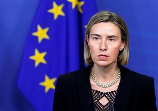 وزيرة خارجية الاتّحاد الأوروبي فيديريكا موغيريني