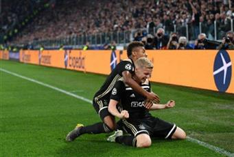 أياكس الهولندي يفجر المفاجأة ويقصي يوفنتوس من دوري الأبطال