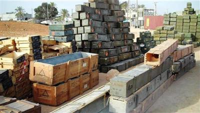 الاتحاد الأوروبي: الأسلحة المضبوطة بتونس لبعثة أوروبية تساعد ليبيا على تأمين حدودها