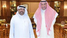 الشيخ فيصل الحمود استقبل رئيس قطاع الصحافة الإلكترونية بنقابة الصحافيين الكويتية