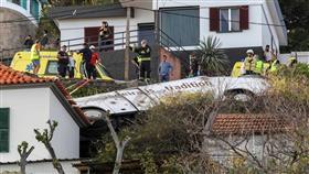 مقتل 29 سائحا ألمانيا في انقلاب حافلة بجزيرة ماديرا البرتغالية