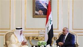 رئيس مجلس الوزراء العراقي يلتقي الأمين العام لمجلس التعاون الخليجي
