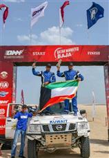 المتسابق الظفيري يحقق المركز الثالث في رالي «باها قطر»