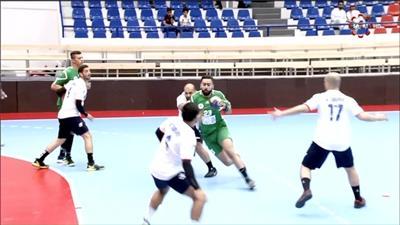 العربي سحق التضامن في بطولة كأس الاتحاد لكرة اليد