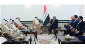 رئيس الوزراء العراقي يستقبل الامين العام لمجلس التعاون الخليجي