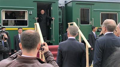 بوتين: زيارة كيم ستساعد على إيجاد سبيل للتوصل لتسوية في شبه الجزيرة الكورية