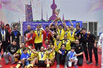 القادسية يحرز لقب بطولة كأس الاتحاد لكرة قدم الصالات على حساب السالمية
