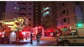 4 يقفزون من شقة بـ «السالمية».. بعد حريقها