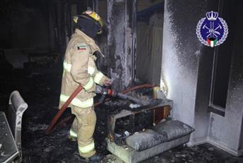 «الإطفاء»: إخماد حريق منزل في منطقة الزهراء
