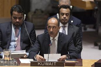 الكويت تجدد التأكيد على عدم وجود حل عسكري للأزمة السورية