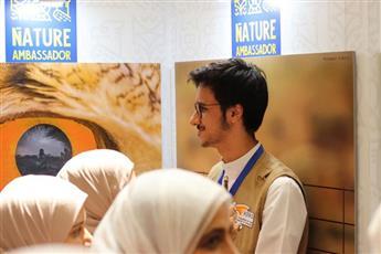 عدد من الطلبة المشاركين