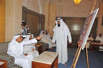 الوزير فهد الشعلة يتفقد المسجد الكبير ومسجد بلال بن رباح