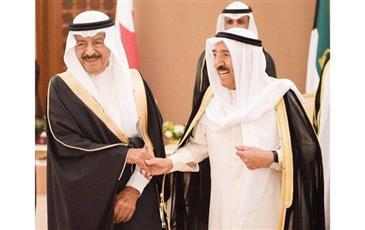 دعم مسيرة التعاون الثنائي بين الكويت والبحرين