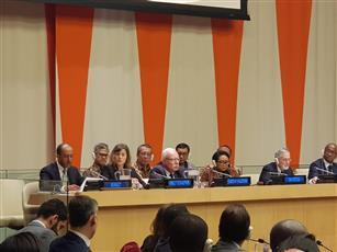 القائم بالأعمال بالإنابة بوفدها الدائم لدى الأمم المتحدة المستشار بدر المنيخ