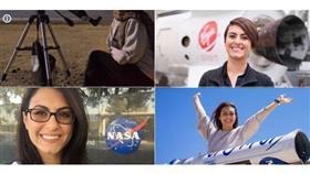 فيديوغرافيك - ديانا السندي أول عراقية تعمل في «ناسا»