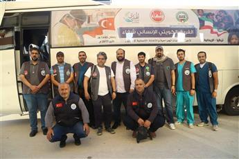 فريق «الشفاء الكويتي» يجري 50 كشفا طبيا و30 عملية للاجئين السوريين بتركيا
