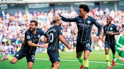مانشستر سيتي يتوج بلقب الدوري الإنجليزي الممتاز