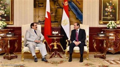 الزعيمان بحثا تعزيز العمل العربي المشترك