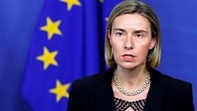 الممثلة العليا للسياسة الخارجية بالاتحاد الأوروبي فيديريكا موغيريني