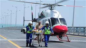 «الطوارئ الطبية» تنقذ المصابين على «جسر جابر»