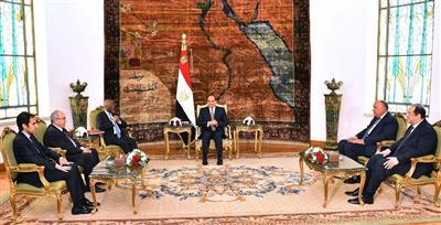 السيسي: داعمون للاستقرار والسلام في السودان