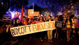 اختراق بث مسابقة يوروفيجن في إسرائيل برسوم متحركة لانفجارات