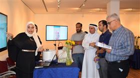 إنطلاق معرض مشاريع تخرج طلبة قسم علوم المعلومات بكلية علوم وهندسة الحاسوب