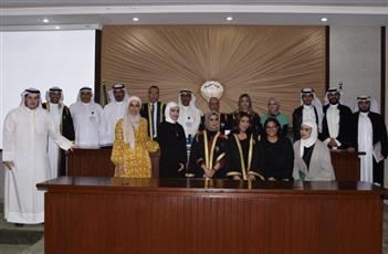 كلية القانون نظمت مسابقة مقرر المحكمة الصورية لقضية افتراضية