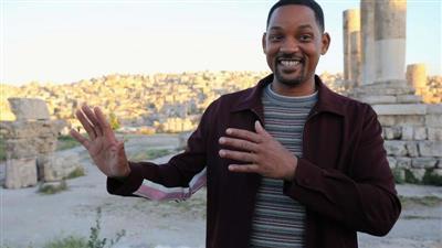 ويل سميث يفتتح فيلمه الجديد في الأردن