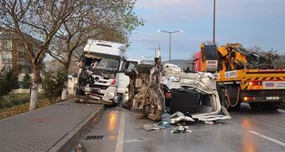 مصرع 5 أشخاص في حادث انقلاب عربة تقل مهاجرين شرق تركيا
