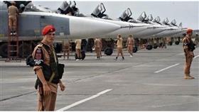 التلفزيون السوري: الدفاعات الجوية في قاعدة حميميم تتصدى لقذائف صاروخية