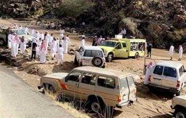 السعودية.. العثور على جثتي زوجين مسنين غرقا في مياه السيول بالطائف