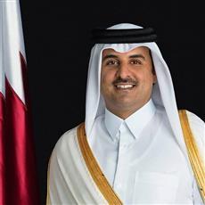 أمير دولة قطر الشقيقة يغادر البلاد بعد زيارة أخوية