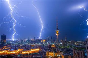 تحذير جوي.. أمطار رعدية متفرقة على بعض مناطق البلاد